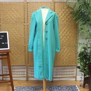 70s Vintage Princess Coat Trench Overcoat